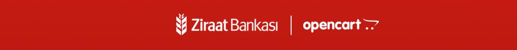 T.C. Ziraat Bankası Opencart Sanal Pos Modülü